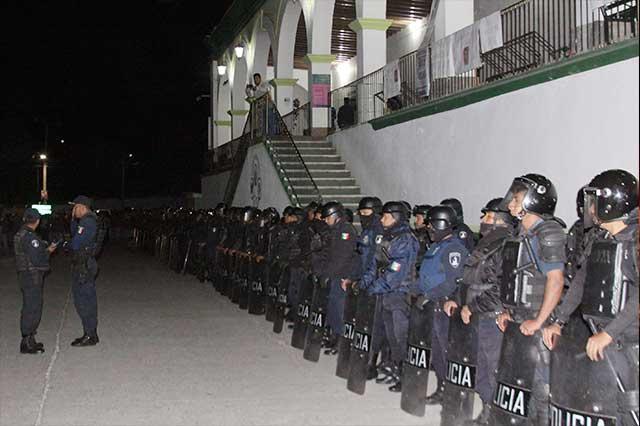 SSP nombra nuevo titular de seguridad pública en Chiautzingo