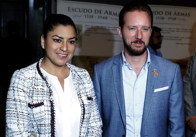 Revisan Rivera y Banck déficit de policías en Puebla capital