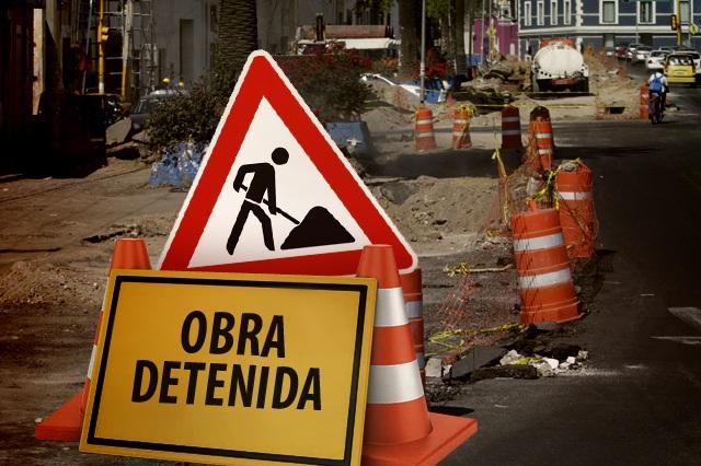 Dejan colgados a alcaldes con obras del programa Peso a Peso