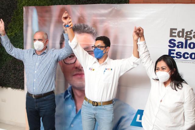 Coordinador del PAN en el Senado da apoyo total a Edgar Salomón Escorza