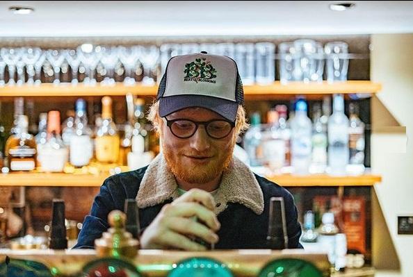 Ed Sheeran regaló una canción inédita a sus fans