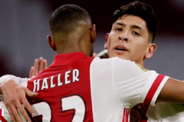 Edson Álvarez, titularidad y asistencia en victoria del Ajax