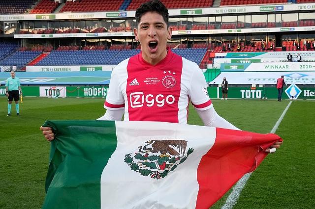 Edson Álvarez consigue la Copa de Países Bajos con el Ajax