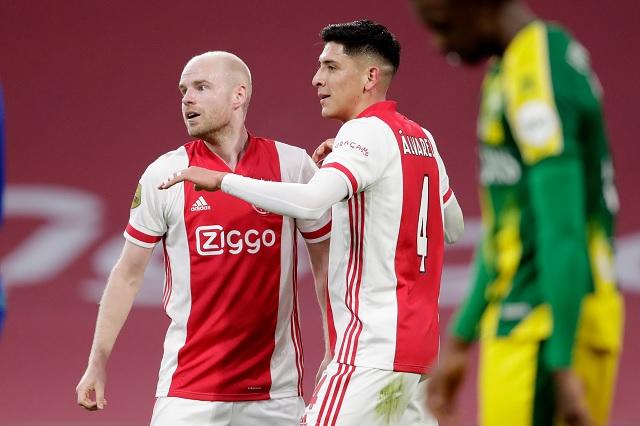 Edson Álvarez contribuye con gol en victoria del Ajax en Eredivisie