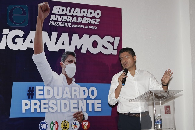 Eduardo Rivera no buscará revancha con Claudia Rivera
