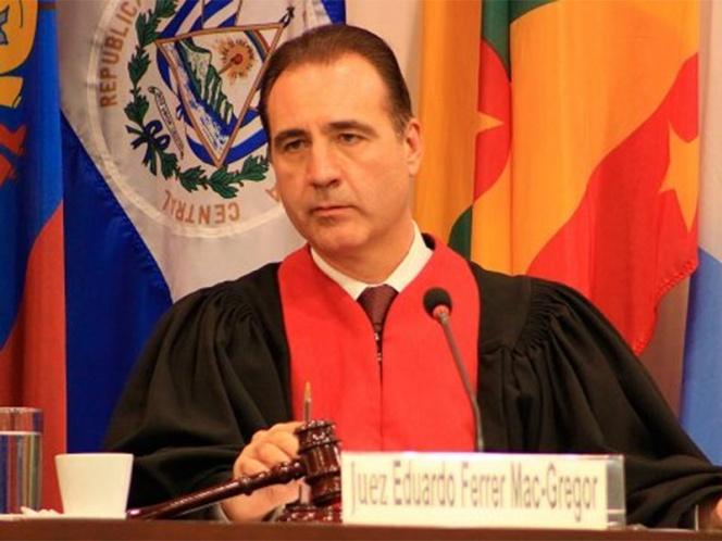 Felicita la CNDH a Ferrer Mac Gregor que dirigirá la Corte IDH