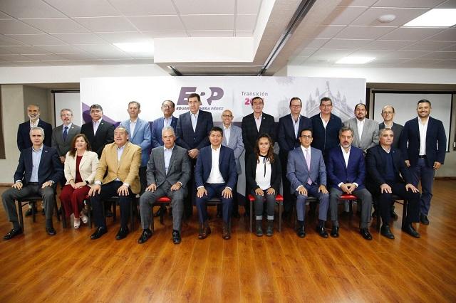 Eduardo Rivera crea la Comisión Permanente por Puebla