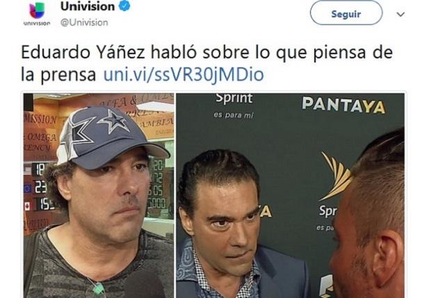 Eduardo Yáñez arremete contra medio tras entrevista