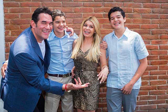 Eduardo Santamarina condiciona a sus hijos para ser actores