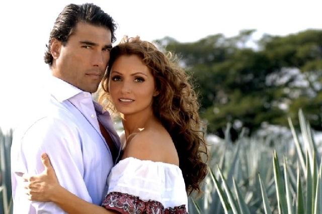 Angélica Rivera y Eduardo Yáñez, pareja con mucho rating