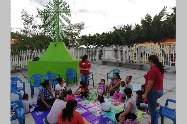 Covid deja sin empleo a promotoras de educación inicial en Acatlán