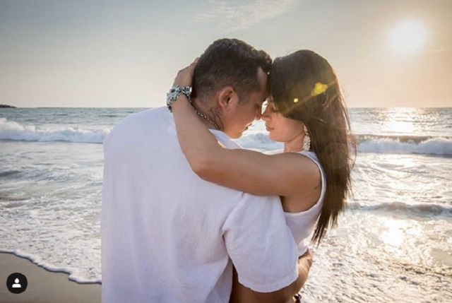 Esposa de Edwin Luna presume su luna de miel en Dubái