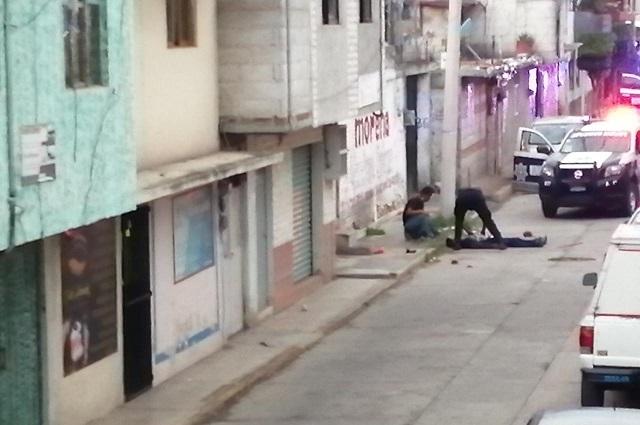 Nueva balacera en Texmelucan deja tres hombres heridos