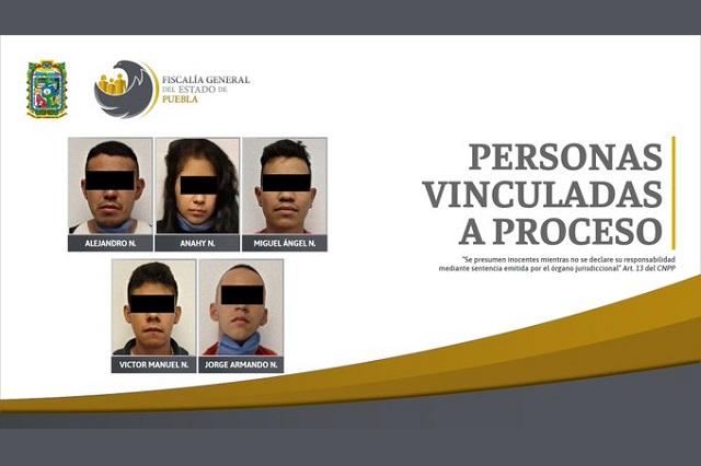 Encarcelan a 5 presuntos integrantes de La Unión de Tepito
