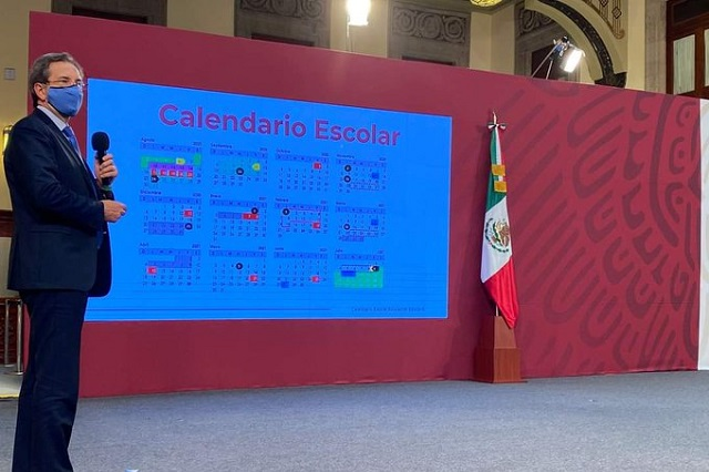 Define SEP calendario escolar con 190 días de clases