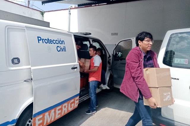 Alistan Secretaría de Protección Civil en Puebla capital
