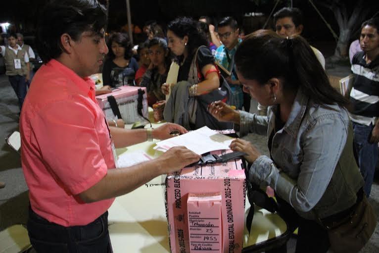 Reportan 112 incidencias y 55 denuncias por elección en Puebla