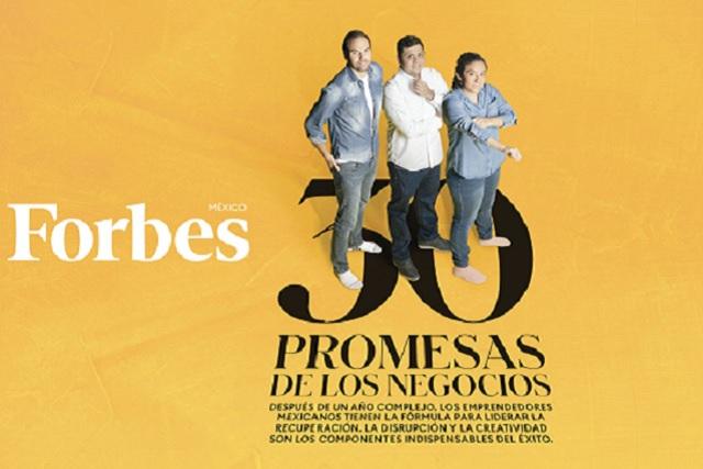 Egresada UDLAP, entre las 30 Promesas de los Negocios de Forbes
