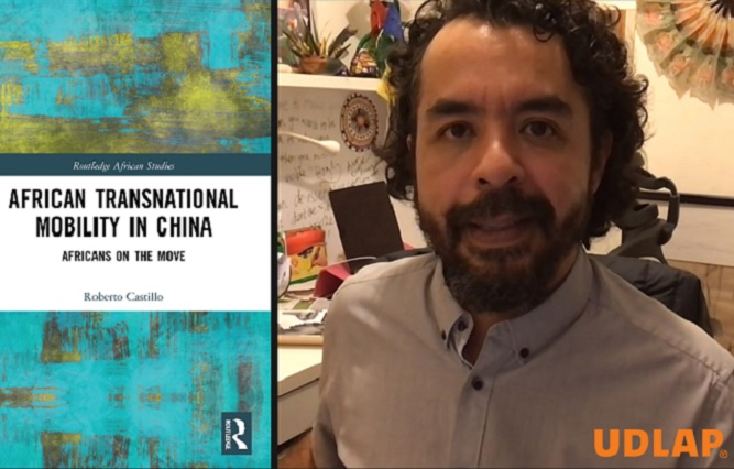 Egresado UDLAP publica libro migración africana a China