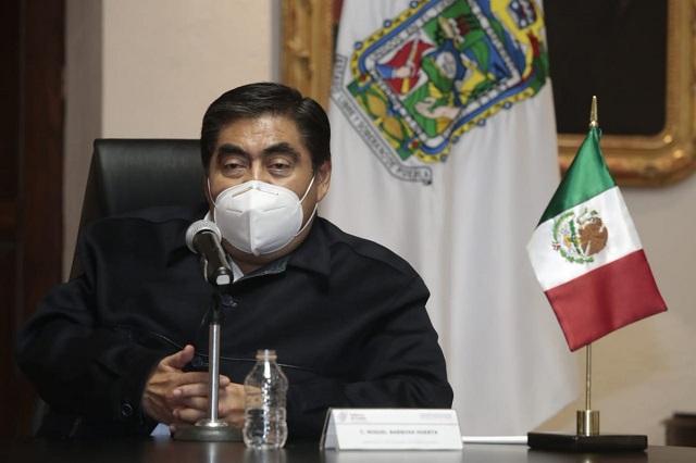 Aunque sea menor, agradece Barbosa obra federal en Puebla