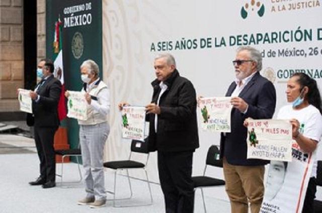 AMLO: se detendrá a militares por desaparición en Ayotzinapa