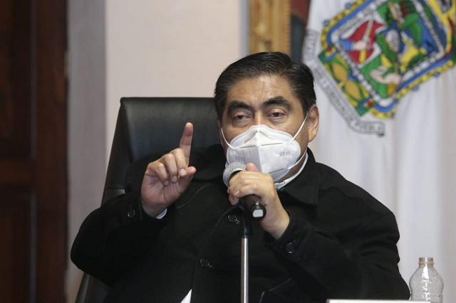 Va Barbosa contra jueces por liberar a delincuentes en Puebla