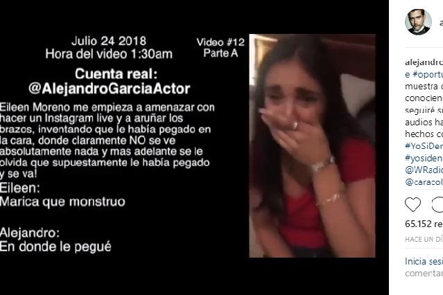 ¿Video de Eileen Moreno tras ser golpeada muestra la verdad?