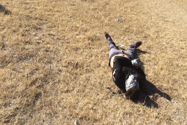 Hallan a hombre ejecutado en las cercanías de la presa de Valsequillo