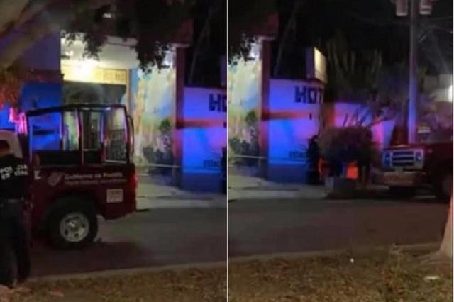 Asesinan a balazos a automovilista en motel de Tehuacán