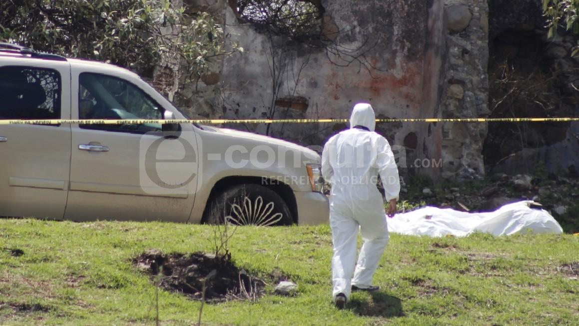 Identifican a los hombres ejecutados en San Miguel Espejo