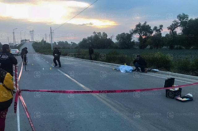 Con rifles AR-15 y AK-47 ejecutan a dos hombres en Acatzingo