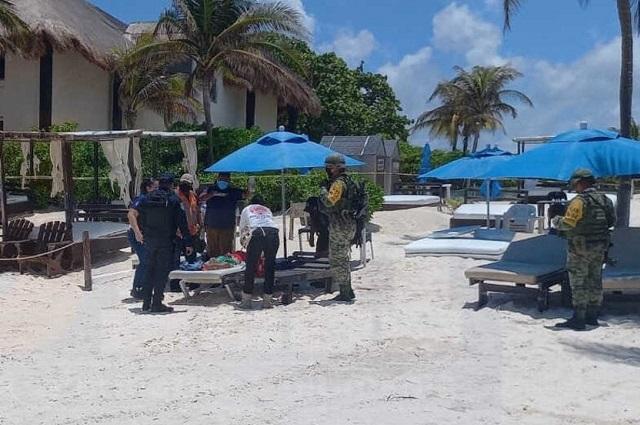 Ejecutan a tres en playas de Tulum, Quintana Roo