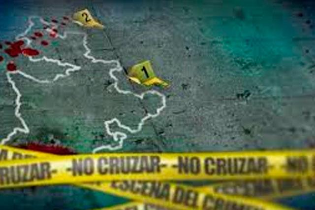 Ejecutan a dos en Zacatlán, a uno lo tiran enrollado en cobijas