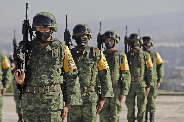 Localiza Sedena en 72 horas 6 tomas clandestinas en Puebla