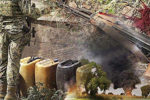 Niega Ejército ataque de huachicoleros en Palmar de Bravo
