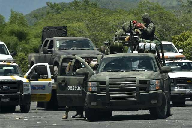 Comando embosca un convoy del ejército y mata a 4 militares y lesiona a 11