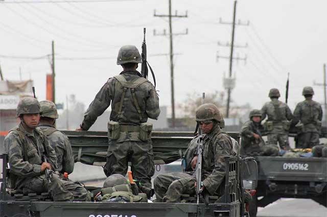 Tienen otros países contrapesos a los Ejércitos, señala el IBD