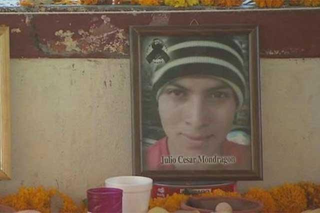 El Chino trasladó el cuerpo del estudiante desollado de Ayotzinapa