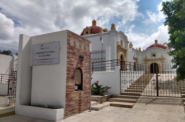 Colapsa complejo cultural El Calvario a 7 años de su remodelación