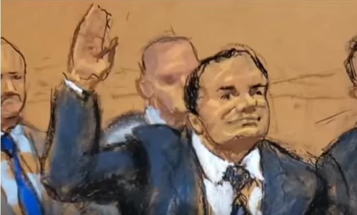 Prohíben difundir imagen del nuevo testigo en el juicio de El Chapo