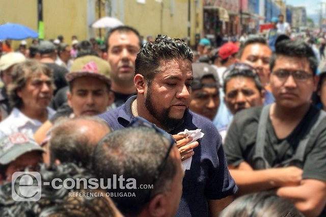 Por tercera vez detienen a El Fede, líder ambulante de Puebla
