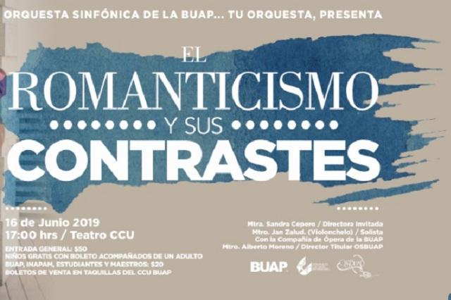 """""""El Romanticismo y sus contrastes"""" este 16 de junio en el Teatro del CCU"""