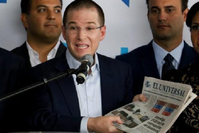 Se intensifica el pleito que sostienen El Universal y Ricardo Anaya