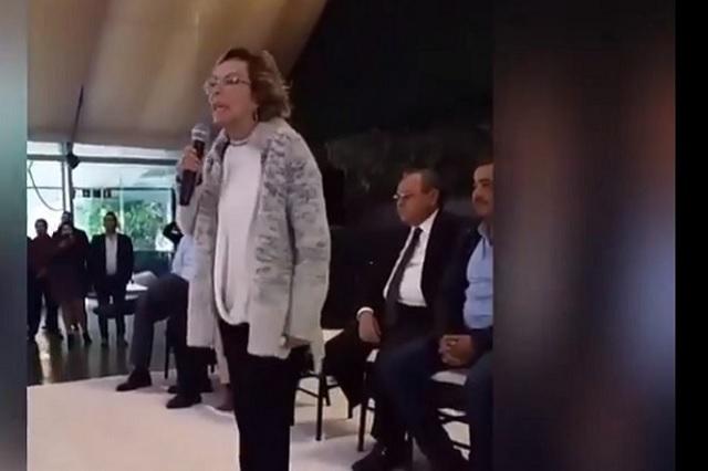Elba Esther afirma que sigue siendo la presidente del SNTE