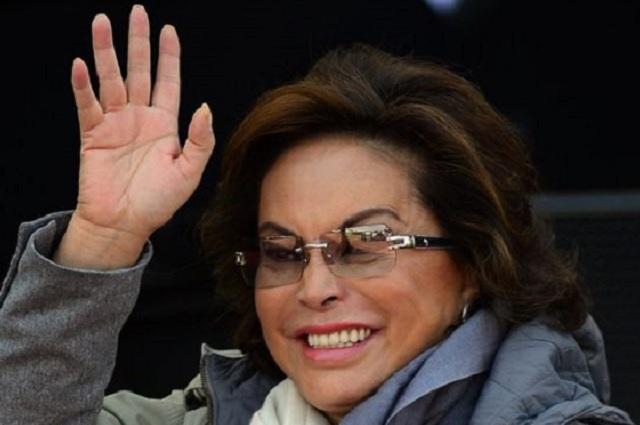 Reportan que Elba Esther está alegre, pero no eufórica por su liberación