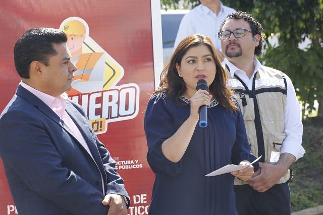 Carlos Meza no es militante de Morena, refuta Claudia Rivera