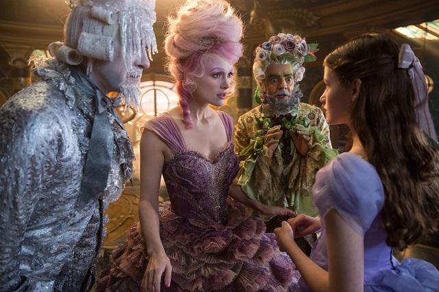 Estos son los personajes de El Cascanueces y Los Cuatro Reinos
