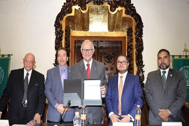 Hay solidaridad entre Escuelas Libres de Derecho de Puebla y CDMX