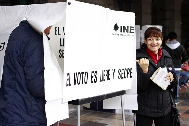 Establece IEE medidas para garantizar el voto libre y secreto