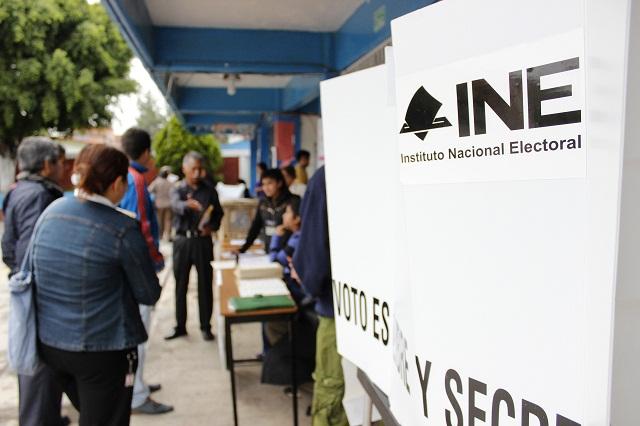 Deja INE elección en manos del IEE; no prevé contratiempos